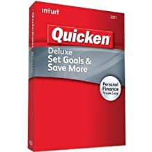Quicken Deluxe 2011 for XP, Vista, Windows 7