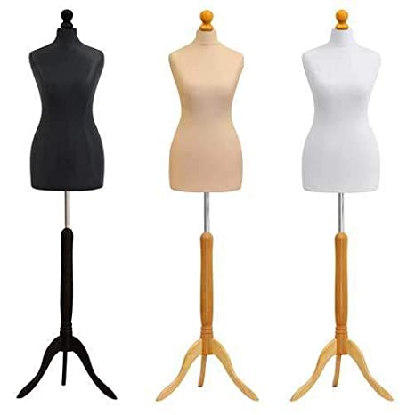 Female Dressmaking MANNEQUIN TAILORS Dummy Size 10//12 Dressmakers Bust Model NEW