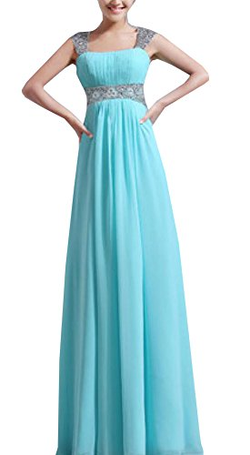 Enlishop Elegant Beading Chiffon Evening product image