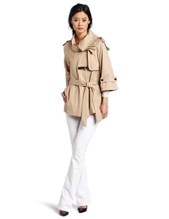 McGinn Women's Billie Trench Jacket, Beige, Small
