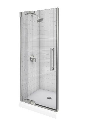 Kohler K-705712-L-NX Purist Heavy Glass Pivot Shower Door, 30 1/4