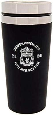 Liverpool FC Executive Travel Mug (One Size) (Black)