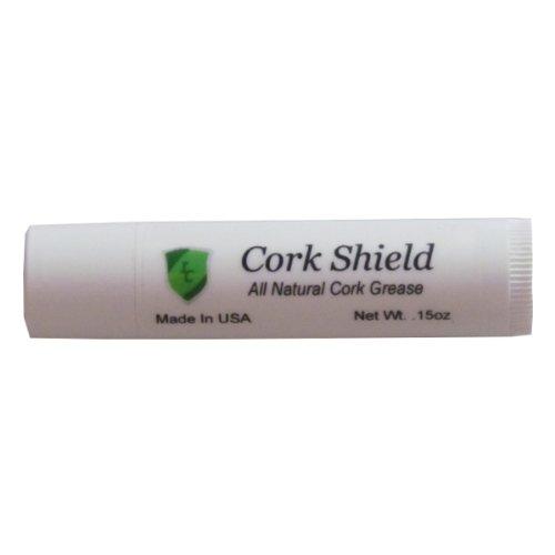 Cork Shield Premium Cork Grease, Single Tube, .15 oz, Made in USA ()