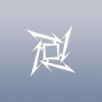 Amazon.com: ShadowMajik Metallica Ninja Star Vinyl Decal ...