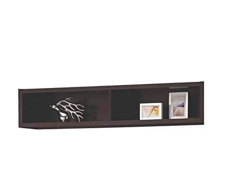 Coaster Home Furnishings Bridge with 2 Encased Storage Compartments Cappuccino
