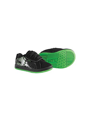 etnies Metal Mulisha Fader (Inf/Tod) - Black/Green/White-8 M Tod