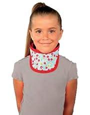 Pediatric X-Ray Thyroid Collar, 0.5mm, Hook & Loop Closure, Regular Weight Lead, Large