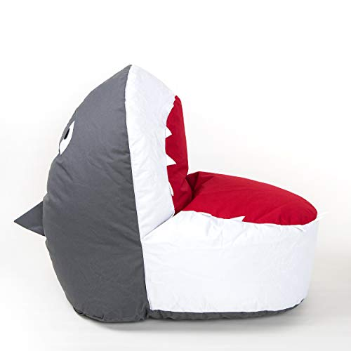 Bean Bag Chairs for Kids Unfilled - Bean Bag Covers Only Without Filling | Indoor Outdoor Bean Bag Chair Cover for Kids Ages 2-8 | Refillable Bean Bag Chairs & ()