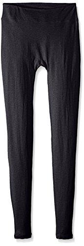 - Terramar Thermasilk Spun Silk Legging Tights, Charcoal Heather, Medium/(10-12)
