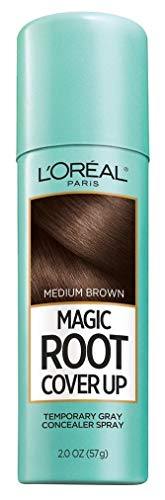 Loreal Root Cover Up Spray Medium Brown 2oz (3 Pack) -