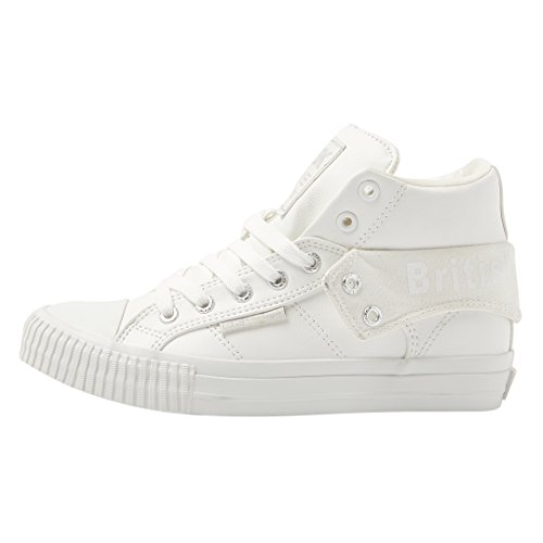 British Knights Roco Men's High-Top Sneaker White/white