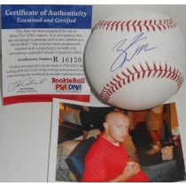 Zack Wheeler New York Mets PSA DNA ROOKIE COA Signed Autographed Baseball