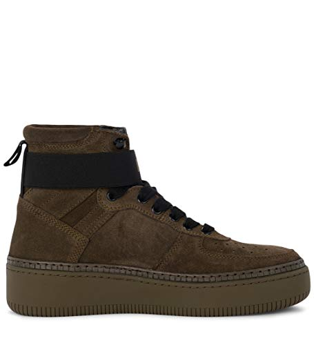 38 Suede US Borchie Verde Green IT E Track01 Positive Sneaker Be Alta Bepositive Woman's in 8 04WaqpPx