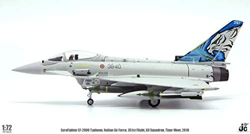 JC Wings 1/72 完成品 イタリア EuroFighter EF-2000 Typhoon Italian Air F