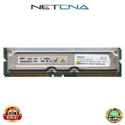 512 Mb Rdram Ram (103991-B21 512MB (2x256MB) Compaq Non-ECC RDRAM RIMM kit 100% Compatible memory by NETCNA USA)