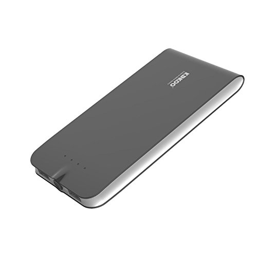 LB1 High Performance New Power Bank for Samsung GT-E2202 6000mAh Ultra Slim Premium Portable Charger and External Battery with Universal Compatible Dual USB Ports 1A/2A (Black)