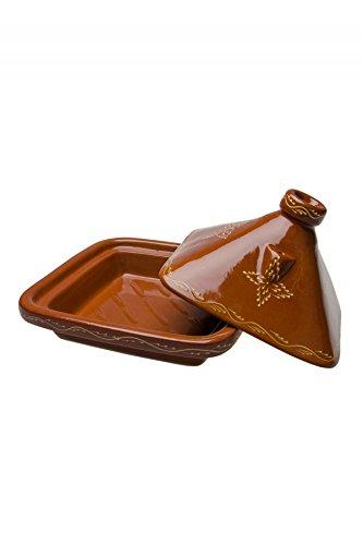 Tajín Premium marroquí, cuadradas tajín Beldi - - 35 cm para ...