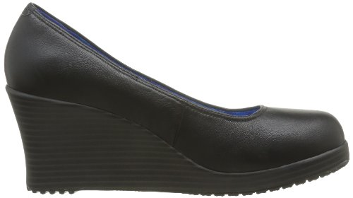 Wedge Compensées A Sandales Noir Black Closed Crocs Femme Black Leigh Toe 7IFF4q