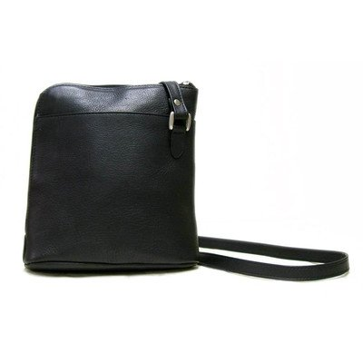le-donne-leather-l-zip-shoulder-bag-black