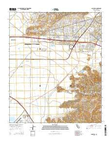(Camarillo, California topo map by East View Geospatial, 1:24:000, 7.5 x 7.5 Minutes, US Topo, 22.8