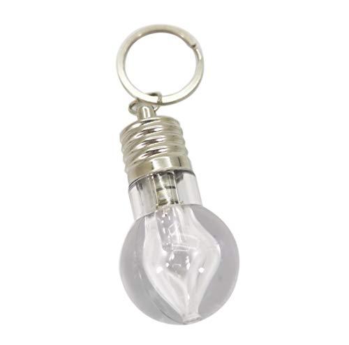 Bulb Keychain Light - SUKRAGRAHA Color Changing LED Light Bulb Keyring Torch Keychain (2pc)