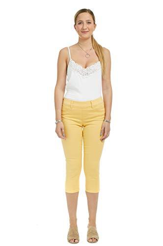 Suko Jeans Women's Denim Capris - Pull On – Stretch 15