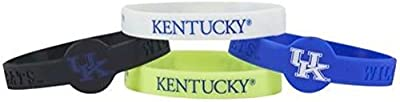 Kentucky Wildcats Bracelets - 4 Pack Silicone
