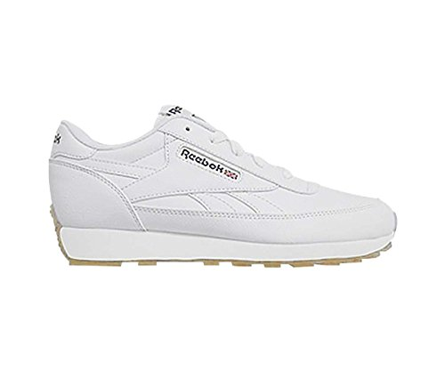 Black Men's Renaissance Shoes (Reebok Men's Classic Renaissance Wide Walking Shoe, Us-White/Black/Gum, 14 4E US)