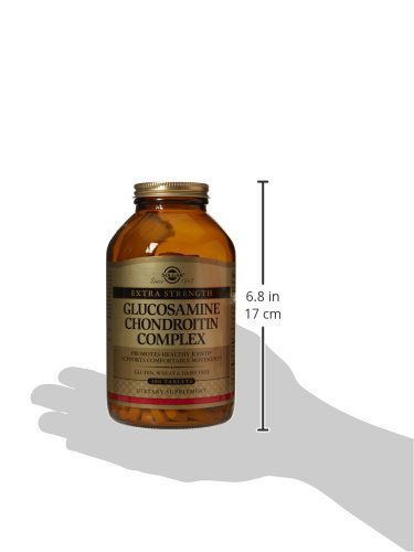 Solgar, Extra Strength Glucosamine Chondroitin Complex 300 Tablets by Solgar (Image #9)