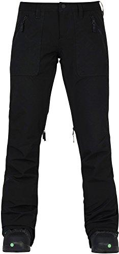 Vent Snowboard Pants - Burton Women's Vida Pant, True Black, Medium
