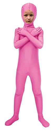 Costumes And Dancewear Inc (Sheface Spandex Face Out Second Skin Zentai Full Body Costume (Small, Pink))