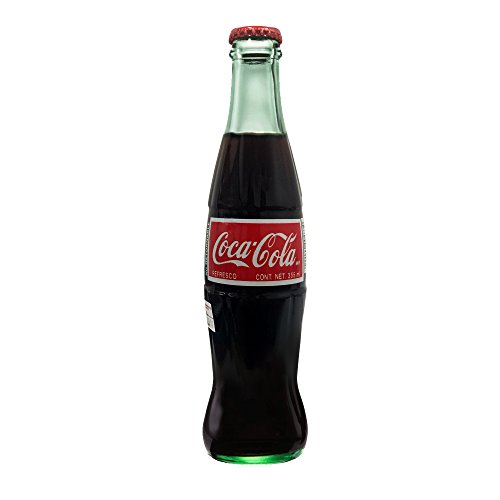 Mexican Coke Glass Bottle, 12 fl oz