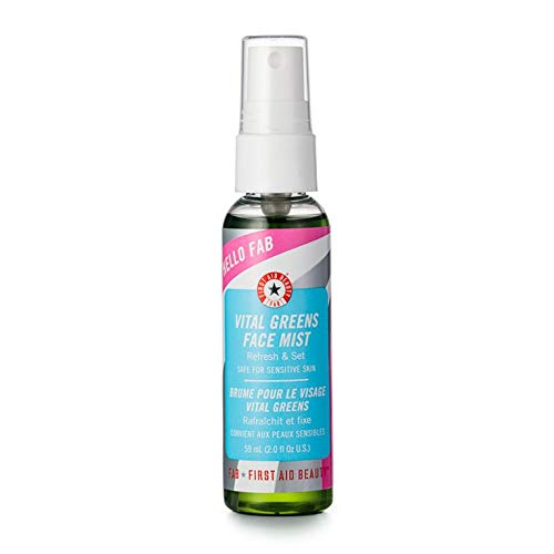 First Aid Beauty Vital Greens Face Mist, 2 Ounce ()