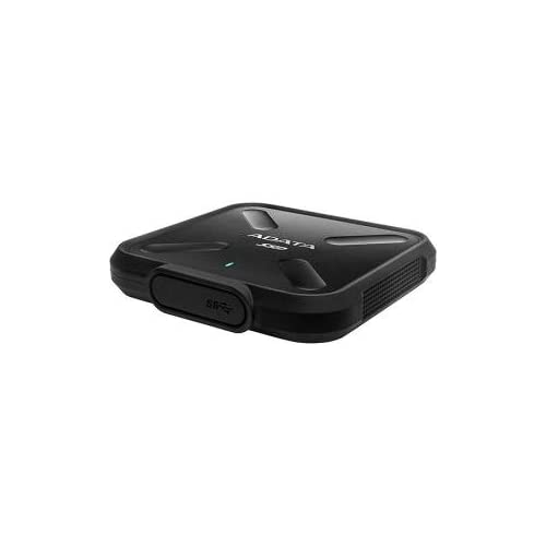 Image of ADATA SD700 External SSD 1TB, Black, Military-Grade,(PX8/IP6X), 3 Years Warranty Internal Solid State Drives