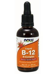 NOW Foods - Liquid B-12 (B Complex) 2 fl oz