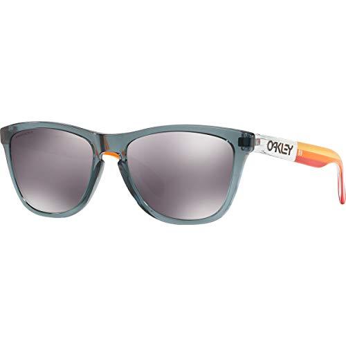 Oakley Men's Frogskins Asian Fit Sunglasses,OS,Crystal Black/Prizm Black (Best Sunglasses For Asians)