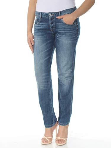 - Guess Womens Tomboy Denim Dark Wash Boyfriend Jeans Blue 29