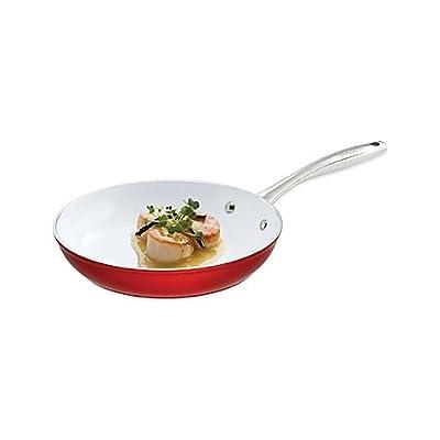 """Bialetti Aeternum Revolution Ceramic Nonstick Fry Pan (8"""")"""