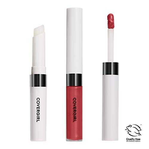 Covergirl Outlast All-Day Lip Color With Topcoat, Red Hot