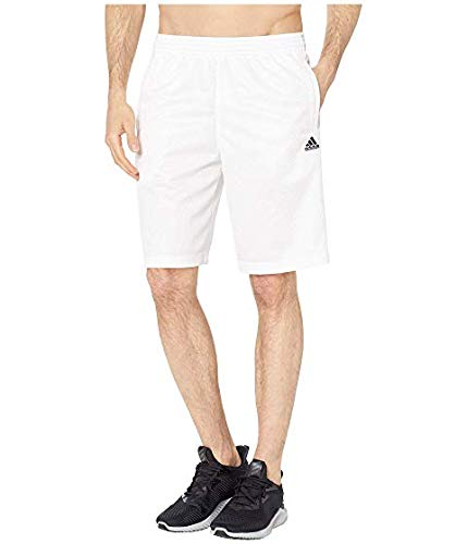 [adidas(アディダス)] メンズウェアジャケット等 Snap Shorts [並行輸入品] US XL(XL) 10 White/Legend Ink B07RC83K6X