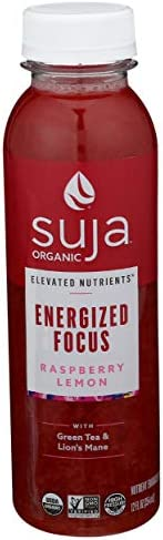 Suja, Juice Rasberry Lemon Focus Organic, 12 Fl Oz