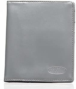 Big Skinny Leather Passport Holder Slim Wallet Holds Up to 16 Cards and 2 Passports