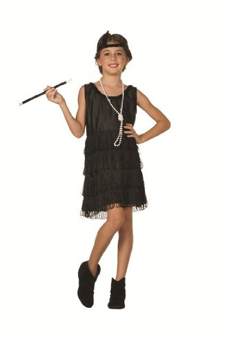 RG Costumes Childs All Fringe Flapper Costume, Child Large, (Cabaret Costumes For Kids)