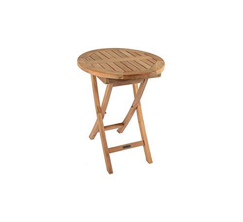 Wood & Style Furniture Teak Folding Bistro Table Home Bar Pub Café Office Commercial