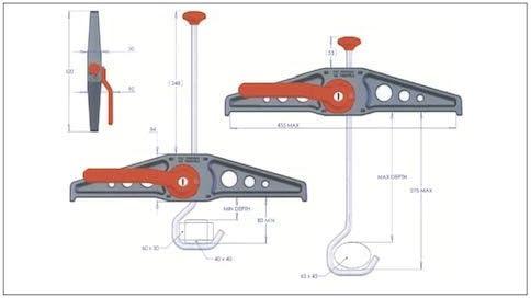Würth DISPOS. BLOCC.Scale (2 PZ.) RHSC01: Amazon.es: Coche y moto