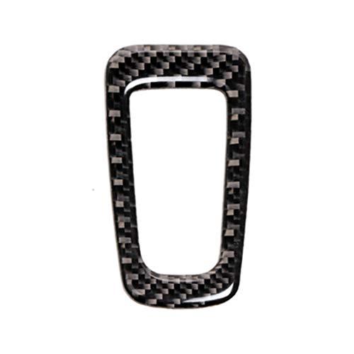 Carbon Fiber Car Electronic Hand Brake Button Frame Sticker for Mercedes C Class W205 C200 GLC - Class Brake