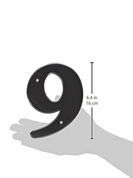 Two 6 High Hy-Ko Products 30302 Plastic House Number 2 White