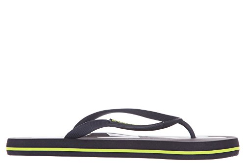 Emporio Armani EA7 tongs homme en caoutchouc sea world eagle beachwear beach noi