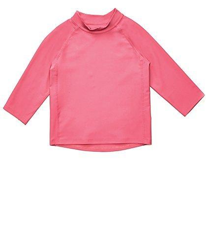 - Leveret Long Sleeve Baby Girls Rash Guard Kids Rashguard (Size 4 Toddler, Pink)