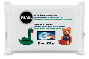 (Creative Paperclay Pearl Paper Clay for Modeling Compound, 16-Ounce,)